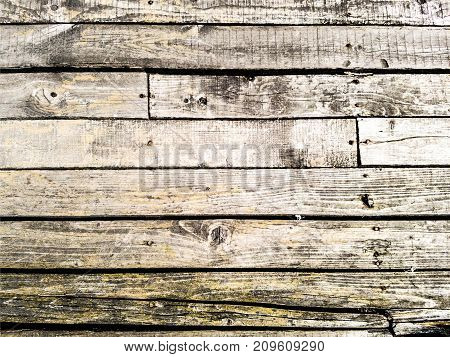 Bleached Wooden Planks background. Aged light rustic texture for your design.