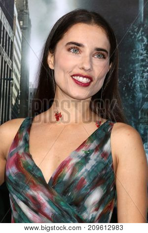 LOS ANGELES - OCT 16:  Alix Angelis at the Geostorm Premiere at the TCL Chinese Theater IMAX on October 16, 2017 in Los Angeles, CA