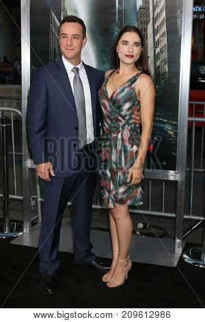 LOS ANGELES - OCT 16:  Billy Slaughter, Alix Angelis at the Geostorm Premiere at the TCL Chinese Theater IMAX on October 16, 2017 in Los Angeles, CA