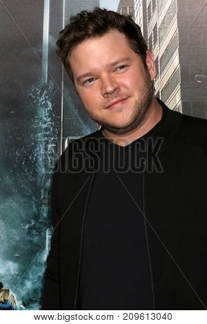 LOS ANGELES - OCT 16:  Harry Ford at the Geostorm Premiere at the TCL Chinese Theater IMAX on October 16, 2017 in Los Angeles, CA
