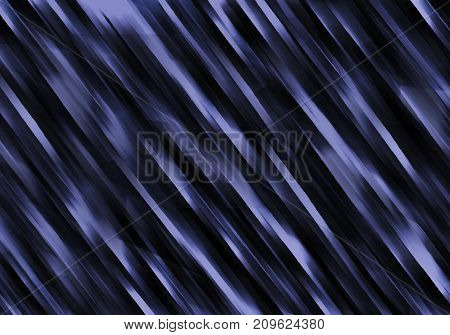 Decorative abstract ultramarine ultraviolet blue and black background with stripes and lines. Illustration