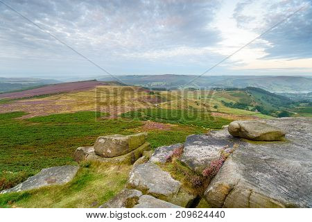 Early Morning At Higger Tor