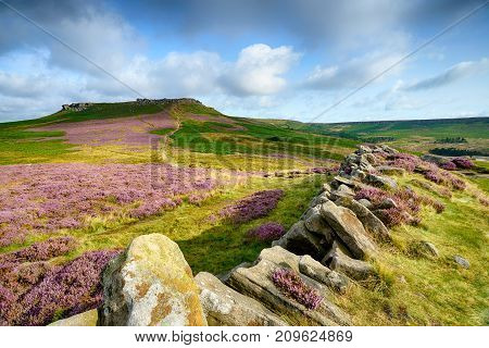 Higger Tor In Derbyshire
