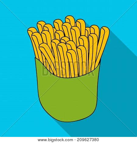 Packaging, single icon in flat style.Packaging vector symbol stock illustration .