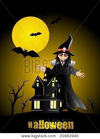 vector illustration for halloween celebration