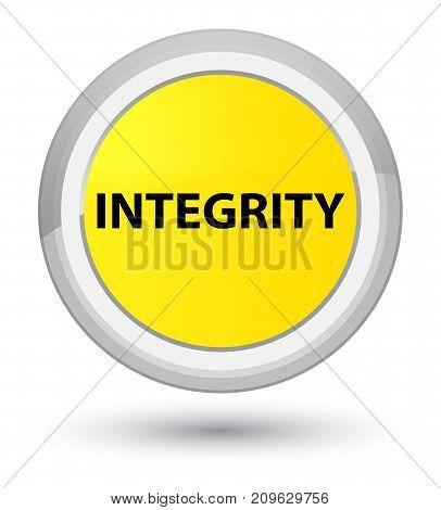 Integrity Prime Yellow Round Button