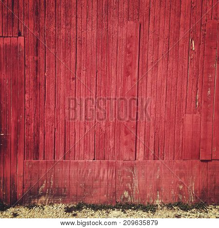 a red barn background texture with nobody.