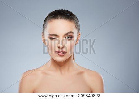 Beauty Portrait Of Seductive Girl