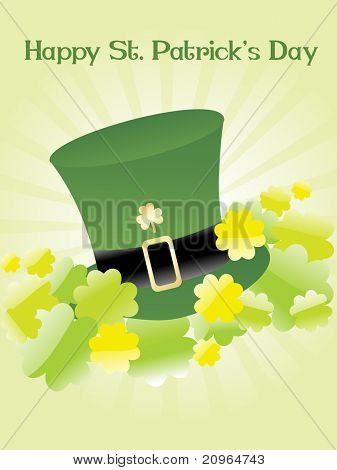 illustration for 17th march happy st. patrick's day
