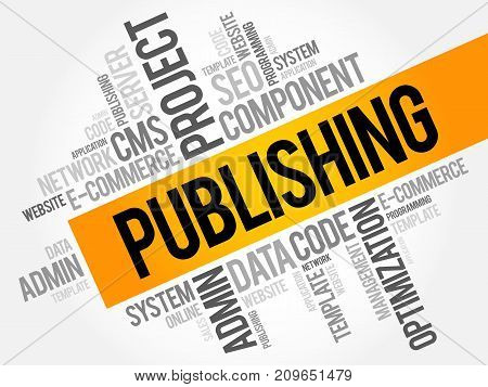 Publishing Word Cloud Collage