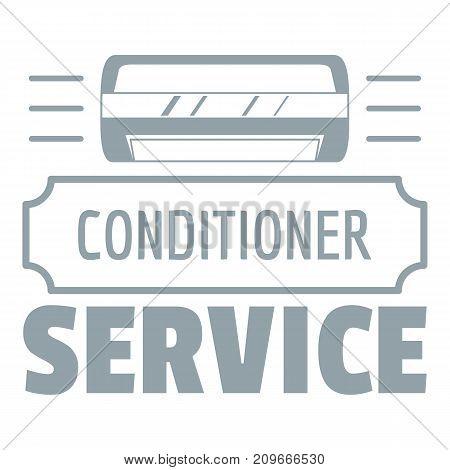 Service conditioner logo. Simple illustration of service conditioner vector logo for web