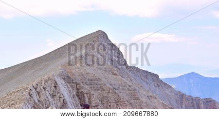 Scolio is one of the highest peaks in Olympus.
