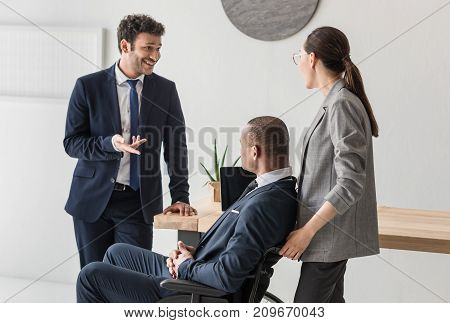 Multiethnic Businesspeople In Office