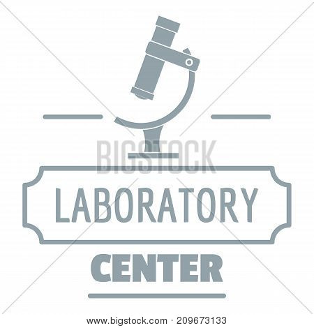 Research medical logo. Simple illustration of research medical vector logo for web