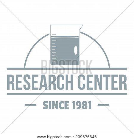 Molecular center logo. Simple illustration of molecular center vector logo for web