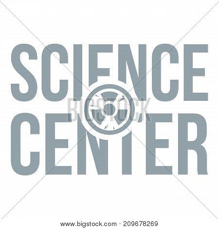 Education center logo. Simple illustration of education center vector logo for web