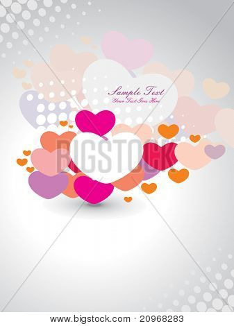 ABSTRACT ROMANTIC BACKGROUND FOR LOVE