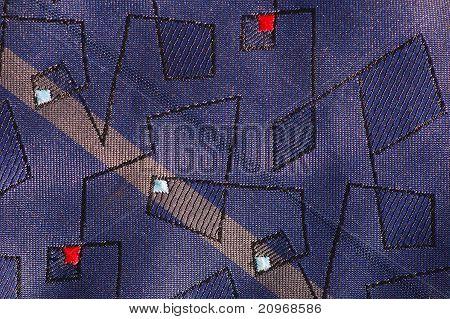 Neck-tie texture