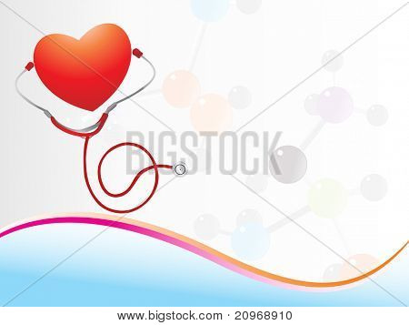 vector illustration of abstract medical background