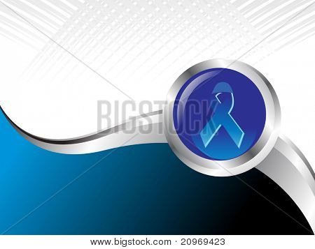 abstract medical background with hiv ribbon