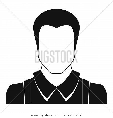 Worker avatar icon. Simple illustration of worker avatar vector icon for any web design