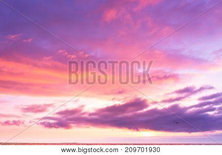 Evening Scene Sunset Paradise