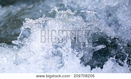 stormy water wave as a background . Photo of an abstract texture