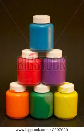 Finger Paint Pyramid