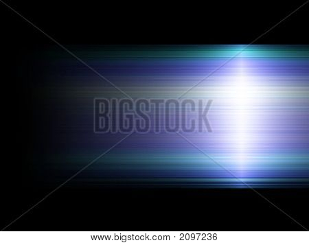 Blue And Green Background With Light Effect