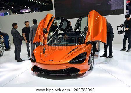 Mclaren 720S In Bangkok International Thailand Motor Show 2017