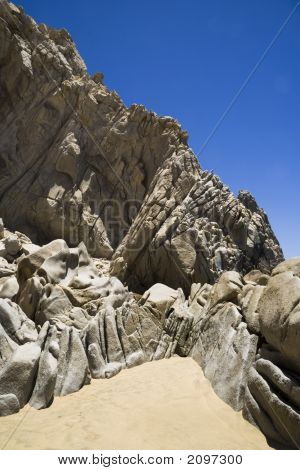 Lover'S Beach Rock Formation G