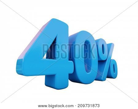 3d render: 3d % Sale Banner or Poster Discount Template