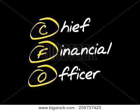 Cfo - Chief Financial Officer