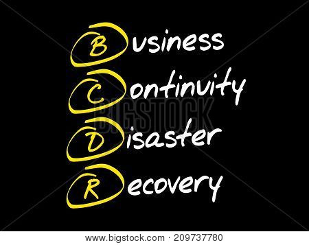 Bcdr  Acronym Business Concept