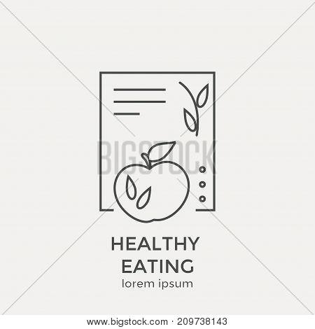 Modern Thin Line Icon. Flat Design Web Graphics Elements.