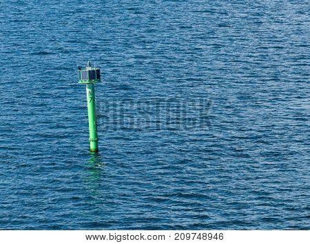 Navigational Aid for ships entering Gdansk Harbor in Poland