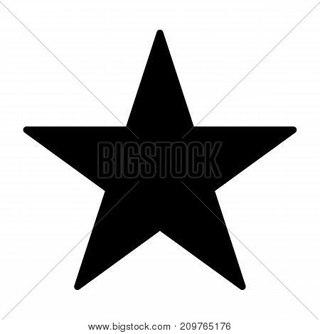 Star silhouette icon. 96x96 for Web Graphics and Apps. Simple Minimal Pictogram. Vector