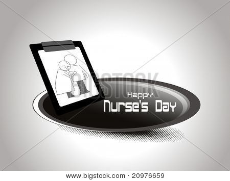vector illustration for happy nurse's day celebration
