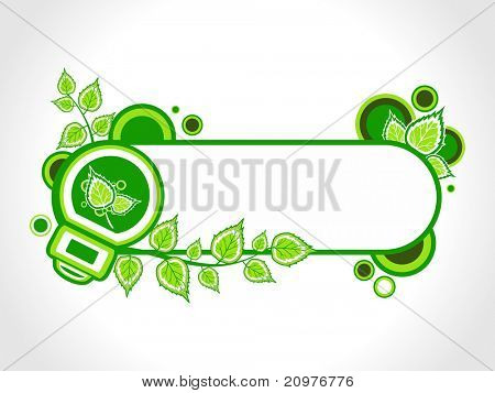 vector illustration of isolated ecology concept banner