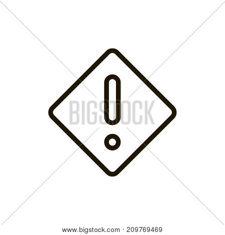 Information icon flat icon. Single high quality outline symbol of info for web design or mobile app. Thin line signs of technology for design logo, visit card, etc. Outline logo of help