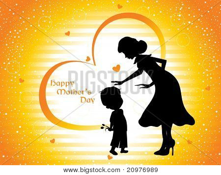 beautiful concept wallpaper for happy mother's day celebration