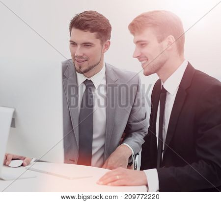 Two successful business people