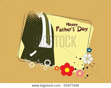 abstract concept background for father's day celebration