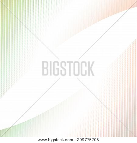 Abstract light colored background -  graphic design from curved angular striped grid