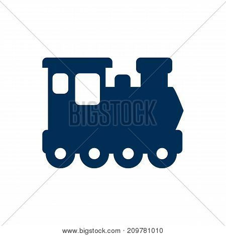 Vector Wagon  Element In Trendy Style.  Isolated Train Icon Symbol On Clean Background.