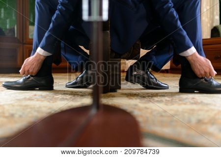 Men's Shoes In Black