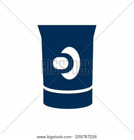 Vector Nipple Cream Element In Trendy Style.  Isolated Teat Icon Symbol On Clean Background.