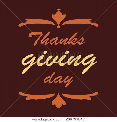 Thanksgiving day. Usable for banners, greeting cards, posters etc