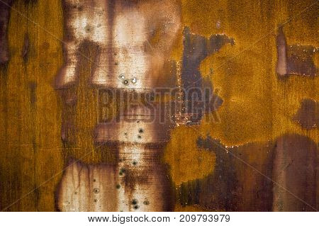 picture of a abstract weathered rusty metallic background
