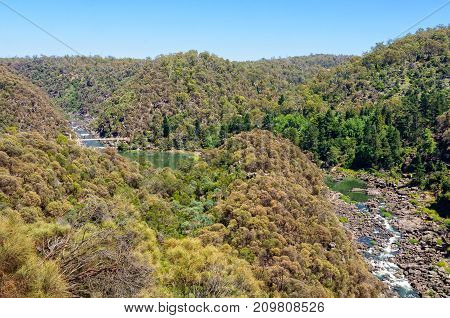 Cataract Gorge Reserve is a little patch of wilderness just 15 minutes walk from the city centre - Launceston, Tasmania, Australia